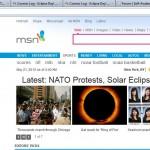 msnfrontpageEclipse